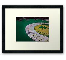 Poker Night Framed Print