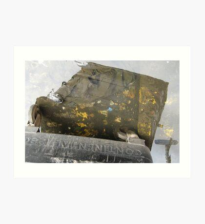 Strange Sky: Dirty Leith Art Print