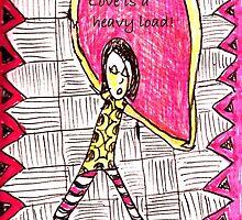 Love is a Heavy Load by debbeeskinner