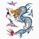 Asian Art Dragon by Zehda