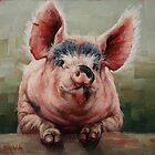 Friendly Pig by Margaret Stockdale