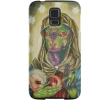 Blessed Reptilian Virgin and Child Samsung Galaxy Case/Skin