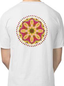 Tropical Fruit Flower Mandala Classic T-Shirt
