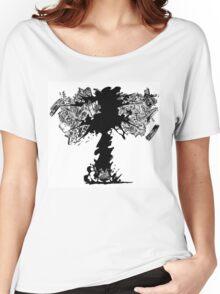 LIBERATION!!! _ BLACK BEARD Women's Relaxed Fit T-Shirt