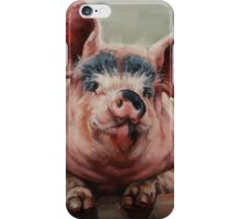 Friendly Pig iPhone Case/Skin