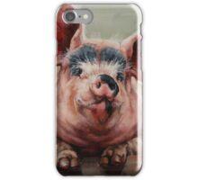 Friendly Pig iPhone Case/Skin