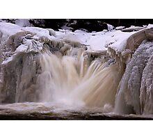 Freezing Torrent Photographic Print