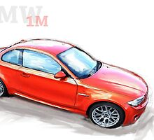 BMW 1M sketch by Lightrace