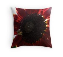 Red Kisses Throw Pillow