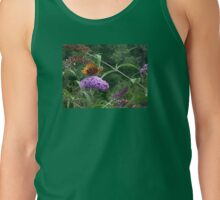 A Great Spangled Fritillary on the Butterfly Bush - photo 2 Tank Top