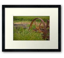 wheel Framed Print