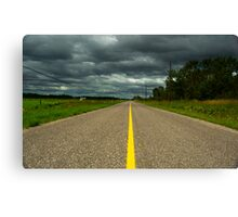 Empty Road Canvas Print