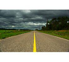 Empty Road Photographic Print