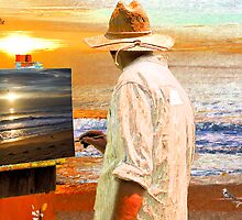 Ocean City Painter by Jim Sells