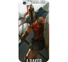 I Want To Be A Baker iPhone Case/Skin