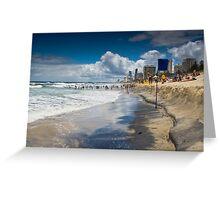 Main Beach - Gold Coast Greeting Card