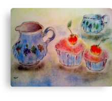Tea-time Canvas Print
