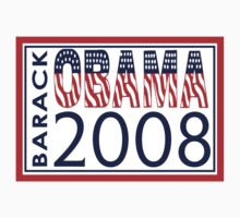 Barack Obama for President 2008 by Zehda