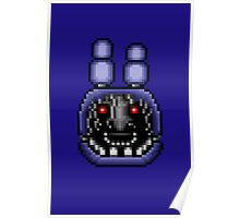 Five Nights at Freddy's 2 - Pixel art - Faceless Bonnie Poster
