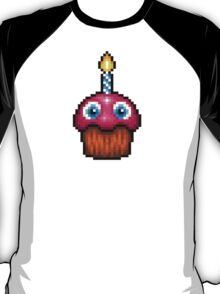 Five Nights at Freddy's 2 - Pixel art - Cupcake (no plate) T-Shirt