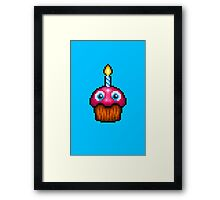 Five Nights at Freddy's 2 - Pixel art - Cupcake (no plate) Framed Print