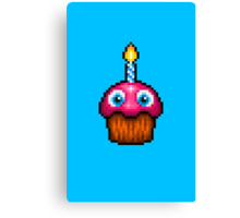 Five Nights at Freddy's 2 - Pixel art - Cupcake (no plate) Canvas Print
