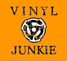 Vinyl Junkie by theshirtshops