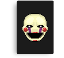 Five Nights at Freddy's 2 - Pixel art - Marionette Canvas Print