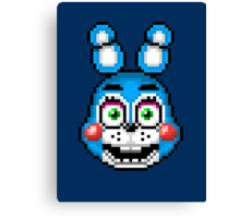 Five Nights at Freddy's 2 - Pixel art - Toy Bonnie Canvas Print