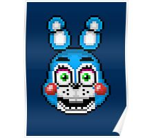 Five Nights at Freddy's 2 - Pixel art - Toy Bonnie Poster