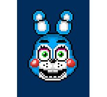 Five Nights at Freddy's 2 - Pixel art - Toy Bonnie Photographic Print
