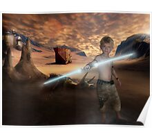 Padawan Training Tatooine Poster