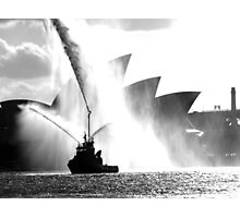 Spray Sydney Harbour Photographic Print