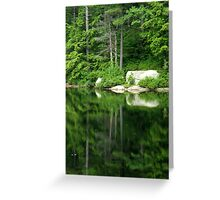 The Water Mirror Greeting Card