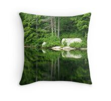 The Water Mirror Throw Pillow