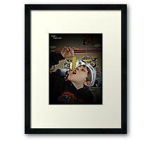 Famous Pickles Framed Print