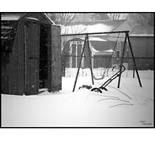 Hillbilly Winter Photographic Print