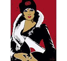 Flapper art: Femme Fatale C 1930 Premeditated Beauty #2 Photographic Print