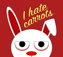 I hate carrots by jaxxx