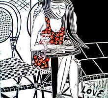 """Love in Paris by Belinda """"BillyLee"""" NYE (Printmaker)"""