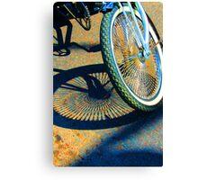 Hot Bike Canvas Print