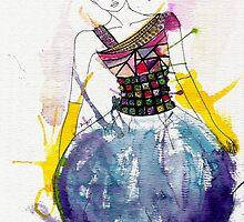 Jeweled Maharani Dress by D.U.R.A .