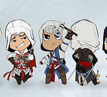 Assassin's Creed Cute Animus  by high-overseer