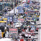 Pit Row in Detroit by Mark Bolen