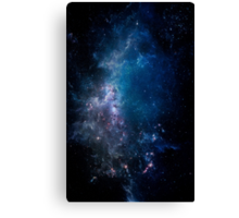 Into The Galaxy (Lost) Canvas Print