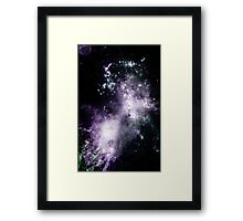 INTO THE GALAXY (WAKE) Framed Print