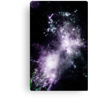 INTO THE GALAXY (WAKE) Canvas Print