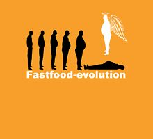 Fastfood evolution Unisex T-Shirt