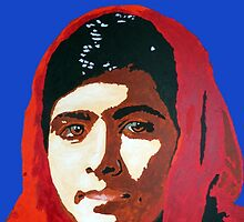 MALALA INTERNATIONAL WOMEN'S DAY by DJVYEATES