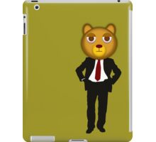 Office bear iPad Case/Skin